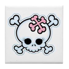 Molly Bones Tile Coaster