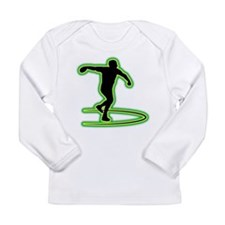 Discus Throwing Long Sleeve Infant T-Shirt