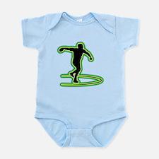Discus Throwing Infant Bodysuit