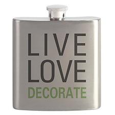 Live Love Decorate Flask