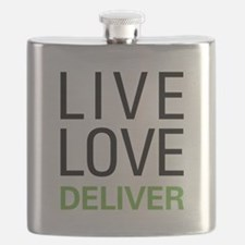 Live Love Deliver Flask