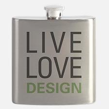 Live Love Design Flask