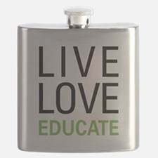 Live Love Educate Flask