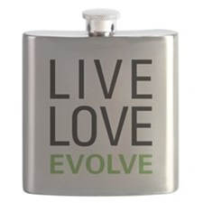 Live Love Evolve Flask