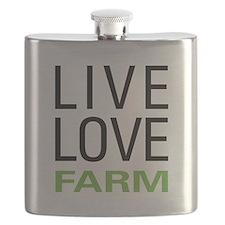Live Love Farm Flask