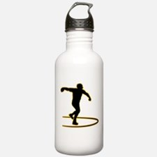 Discus Throwing Water Bottle