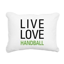 livehandball.png Rectangular Canvas Pillow