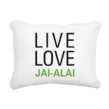 livejai.png Rectangular Canvas Pillow
