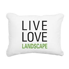 liveland.png Rectangular Canvas Pillow