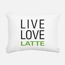livelatte.png Rectangular Canvas Pillow