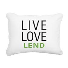 livelend.png Rectangular Canvas Pillow