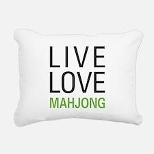 livemahjong.png Rectangular Canvas Pillow
