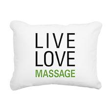 livemassage.png Rectangular Canvas Pillow