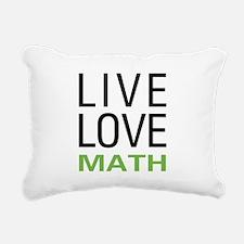 livemath.png Rectangular Canvas Pillow