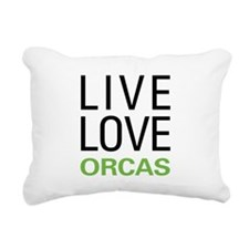 liveorca.png Rectangular Canvas Pillow