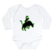 Bull Riding Long Sleeve Infant Bodysuit