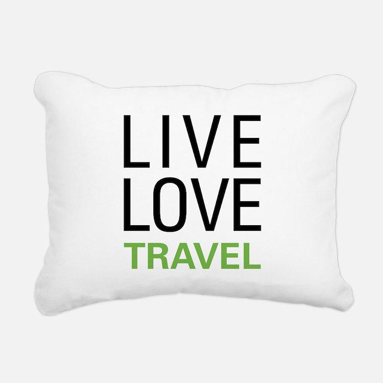 livetravel1a.png Rectangular Canvas Pillow