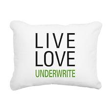 liveunderw.png Rectangular Canvas Pillow