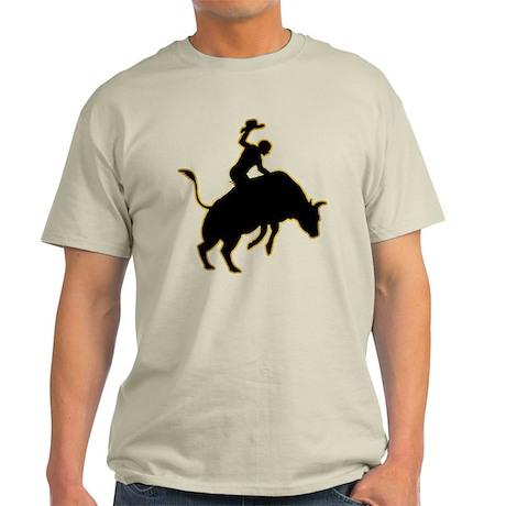 Bull Riding Light T-Shirt