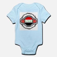 Iraq Boxing Infant Bodysuit