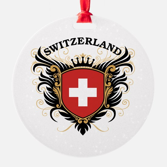 Switzerland Ornament