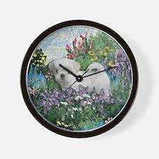 Shih Tzu Fine Art LillyW Wall Clock