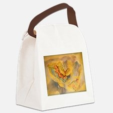 Butterfly, colorful art! Canvas Lunch Bag