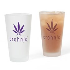 crohnic™ Logo t-shirt - Light Colors Drinking Glas
