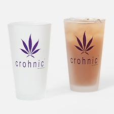 crohnic™ Logo t-shirt - Light Colors Drinking Glas