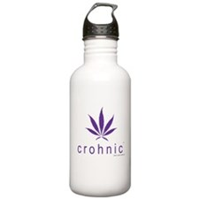 crohnic™ Logo t-shirt - Light Colors Water Bottle