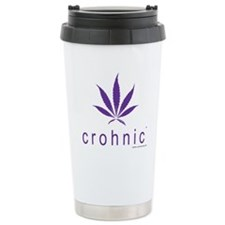 crohnicT Logo t-shirt - Light Colors Travel Mug