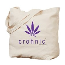 crohnic™ Logo t-shirt - Light Colors Tote Bag