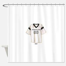 Sports Shirt Shower Curtain