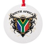 South africa Round Ornament
