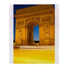 Arc de Triomphe Throw Blanket