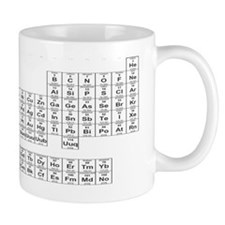 Periodic Table of the Elements Small Mugs