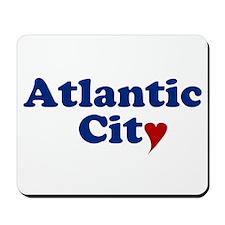 Atlantic City with Heart Mousepad