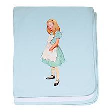 Just Alice baby blanket