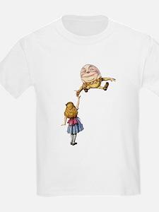 Alice Meets Humpty Dumpty in Wonderland T-Shirt