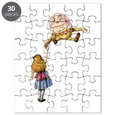 Alice Meets Humpty Dumpty in Wonderland Puzzle