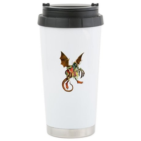 Beware the Jabberwock, Stainless Steel Travel Mug