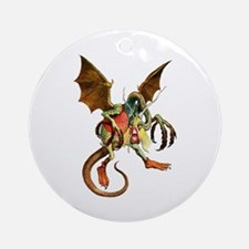 Beware the Jabberwock, My Son! Ornament (Round)