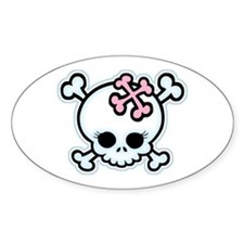 Molly Bones Oval Decal