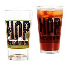 Hop Till You Drop IPA Drinking Glass