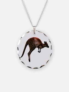 Hopping Kangaroo Necklace