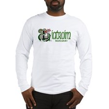 Leitrim Dragon (Gaelic) Long Sleeve T-Shirt