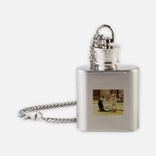 Kung Fu Kittens Flask Necklace