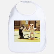 Kung Fu Kittens Bib