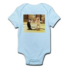 Kung Fu Kittens Infant Bodysuit