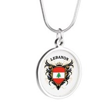 Lebanon Silver Round Necklace
